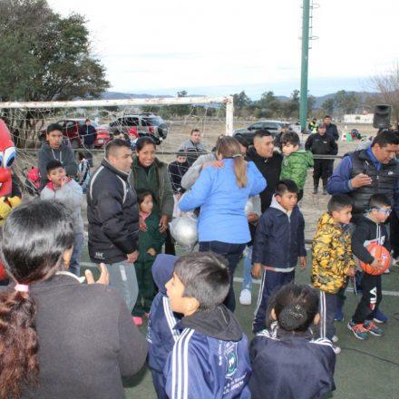 Masiva participación de niños en la Jornada de Integración de Cuerpos Infantiles
