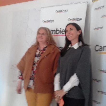 Gladys Moises recibió a la Secretaria Nacional Pro Mujeres, Sofía Brambilla