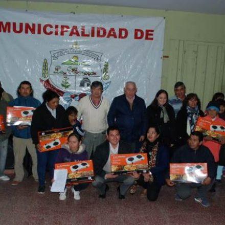 La Merced: 30 familias recibieron anafes y se adhirieron al Plan Conéctate Gas