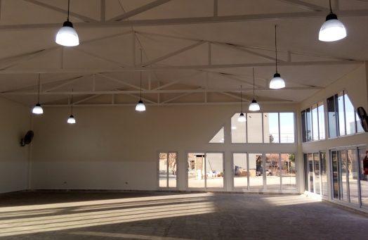 La comunidad educativa del Centro Polivalente de Arte cuenta con un nuevo edificio