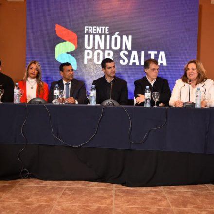 En Tartagal, Urtubey presentó la lista de legisladores nacionales de Unión por Salta