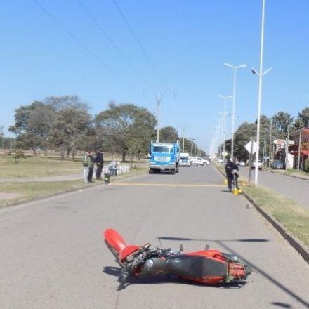 Un joven perdió la vida en Las Lajitas tras un siniestro vial con una motocicleta