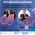 El 25 #MujeresEnLasRedes