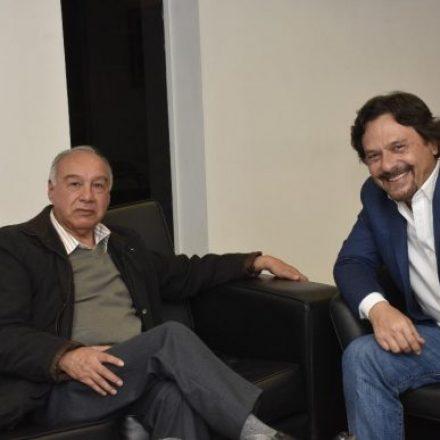 Sáenz recibió al dirigente Lidoro Sánchez
