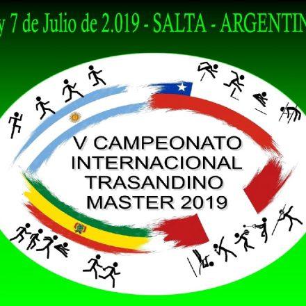 V Campeonato Internacional Trasandino Master 2019