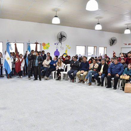 """Urtubey en San Antonio de los Cobres: """"hoy nos toca inaugurar el 206° nuevo edificio escolar"""""""