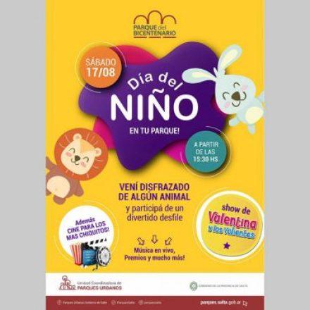 El Día del Niño se celebrará en los Parques Urbanos