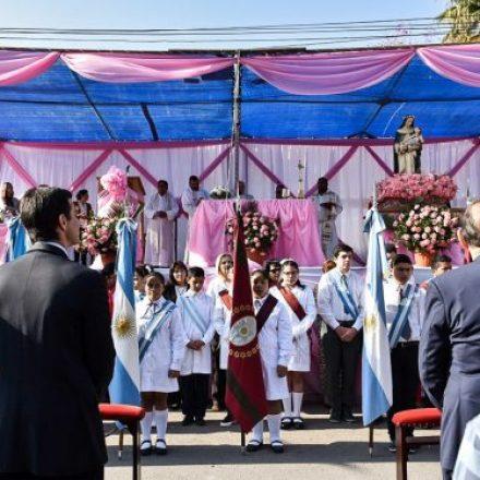 El gobernador Urtubey participó en el festejo patronal de General Güemes