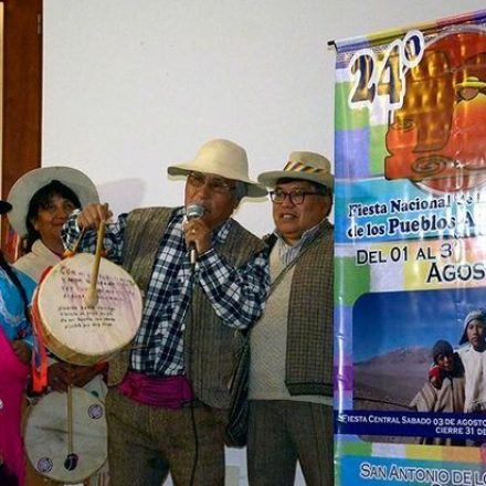 «Homenajes a la Pachamama» en la provincia