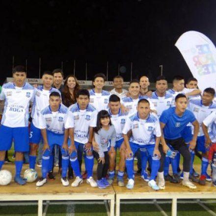 Barrio Ceferino ganó en la apertura de la edición especial del Fútbol de los Barrios