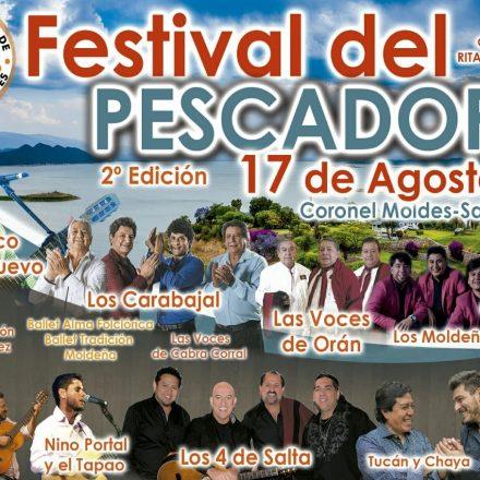 Lanzarán el 2° Festival del Pescador a realizarse en Coronel Moldes