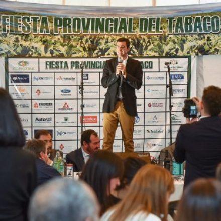 Urtubey compartió con productores y trabajadores la Fiesta Provincial del Tabaco