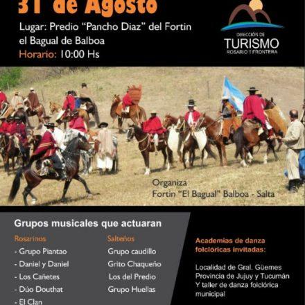 27º Encuentro nacional y provincial de Agrupaciones y Fortines Gauchos en Rosario de la Frontera