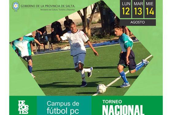 Hoy comienza el primer Torneo Nacional de fútbol PC en Salta