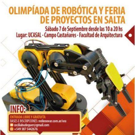 Inscripciones abiertas para la Olimpiada de Robótica Argentina