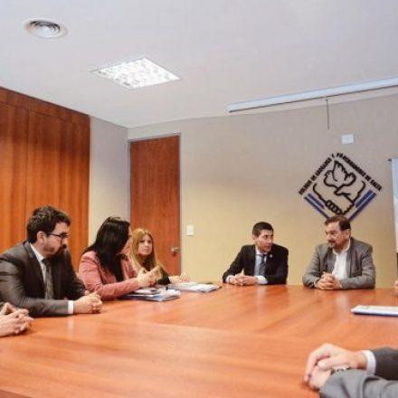 Isa se reunió con directivos del Colegio de Abogados y Procuradores de Salta