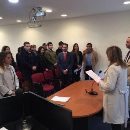 Tras jurar confidencialidad, estudiantes de la UCASAL iniciaron prácticas pre-profesionales supervisadas