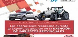 La Provincia eximirá de impuestos a las compras y ventas en la Expo rural 2019