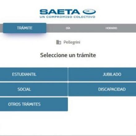 SAETA incorporará para trámites el sistema de turnos online