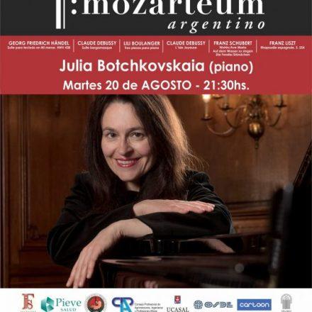 Desde Ucrania llega Julia Botchkovskaia para presentarse en Salta