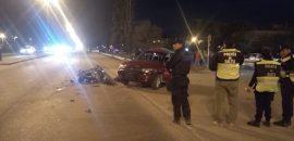En Avenida Tavella de la Capital, siniestro vial donde falleció un motociclista