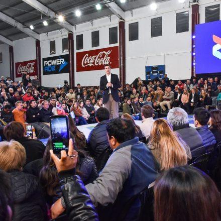Cierre de campaña electoral de Unión por Salta