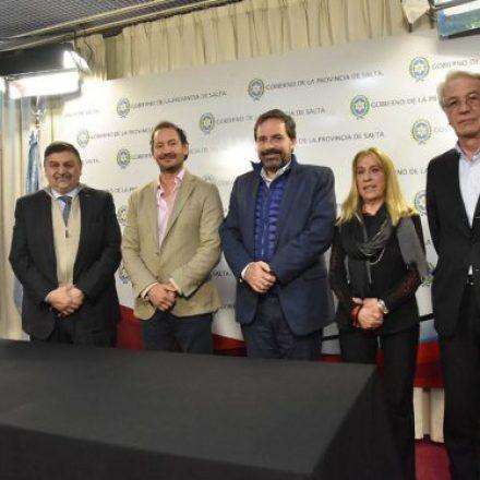 Firmaron un convenio para la creación de un Centro de Medicina Nuclear de Alta Complejidad