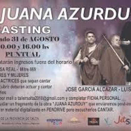 Casting para actores y actrices que sepan cantar