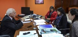 Reunión de López Arias con Innocence Project y el Observatorio de Violencia contra las Mujeres