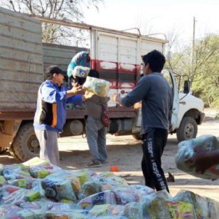 Se garantizó la contención alimentaria destinada a merenderos, comedores y a comunidades originarias