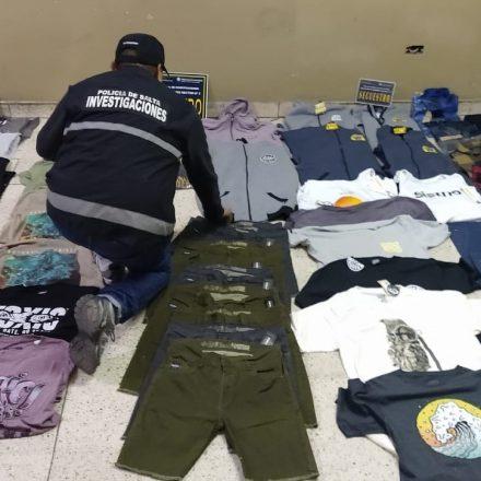 Recuperan mercadería que fue robada de una tienda del centro capitalino