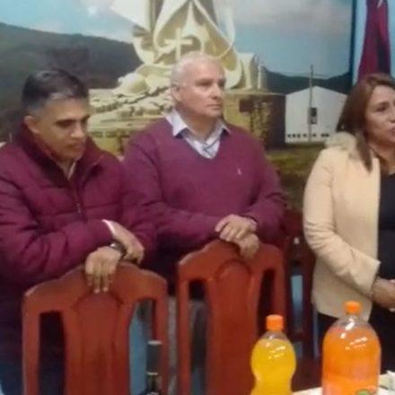 Veteranos de Malvinas en Salta, agasajaron a referentes de la política local