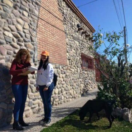 Promotores  ambientales  visitan a vecinos del Programa Separemos Juntos