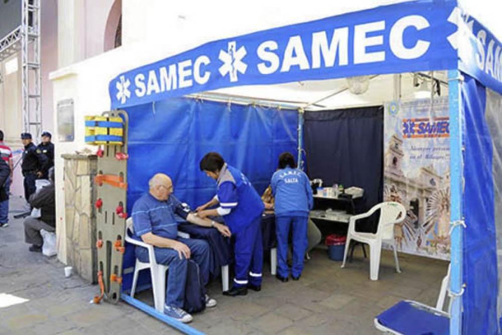 Cobertura del SAMEC hasta el domingo 15 de septiembre