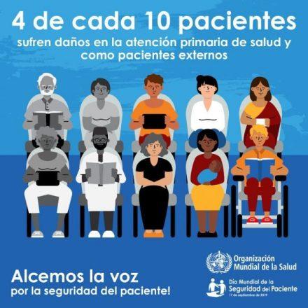 Hoy se celebra por primera vez el Día Mundial de la Seguridad de los Pacientes