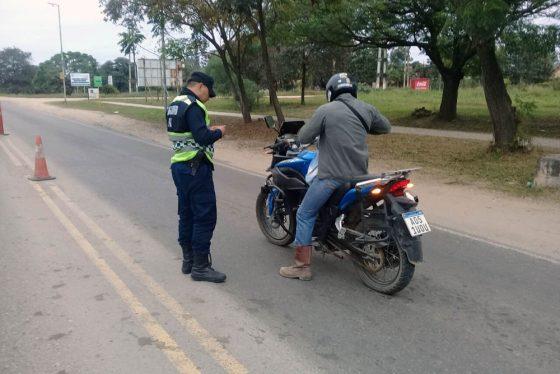 Se fortaleció la seguridad en controles preventivos viales
