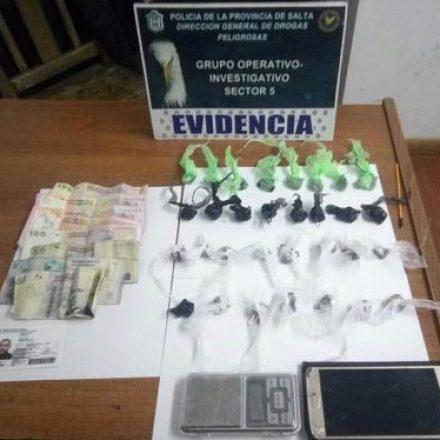 Intensos operativos contra el narcotráfico