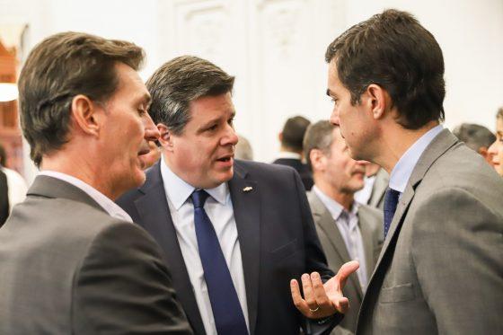 El gobernador Urtubey asistió a la UIA por el Día de la Industria
