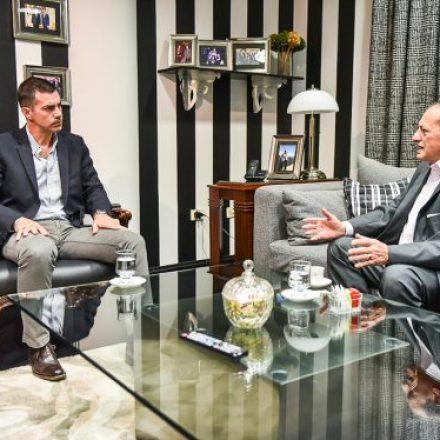 Urtubey se reunió con el rector de la UNSa para avanzar en convenios de colaboración
