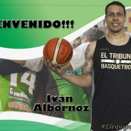 Fuerza y talento, el interno Iván Albornoz regresó al TBB