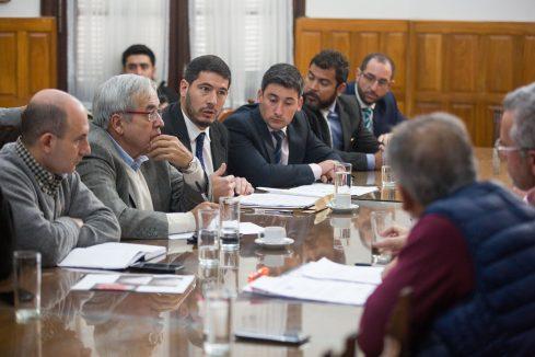 Legisladores recibieron al Ministro de Seguridad de la provincia, Carlos Oliver