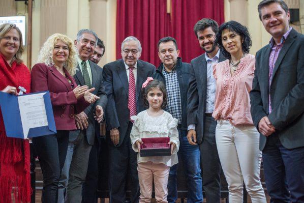 La Cámara de Diputados reconoció a la niña Celina Romano por sus columnas en un medio digital