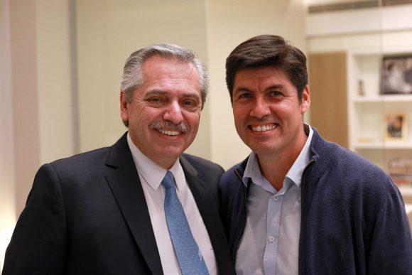 Quilodrán se reunió con Alberto Fernández en Buenos Aires