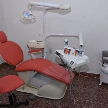 El puesto sanitario de Capitán Pagés cuenta con un consultorio odontológico