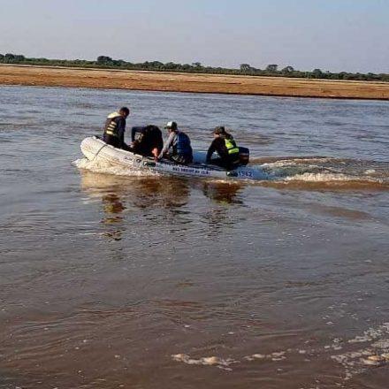 Encontraron el cuerpo del joven pescador perdido en el rio Bermejo