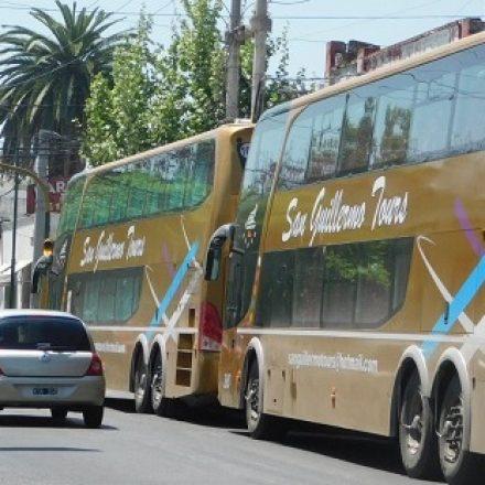 Reglamentaron la circulación y estacionamiento de los vehículos de transporte de pasajeros de alto porte