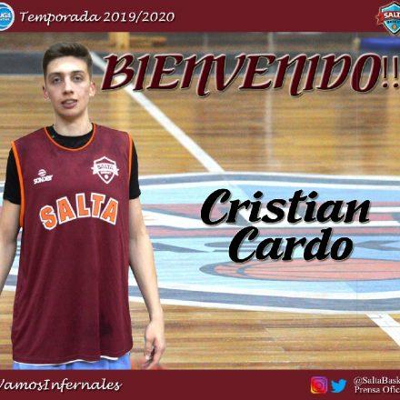 Cristian Cardo, ex San Lorenzo, se sumó a Los Infernales de Salta Basket
