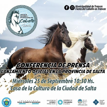 Tucumán presentará en Salta la Fiesta Nacional e Internacional del Caballo