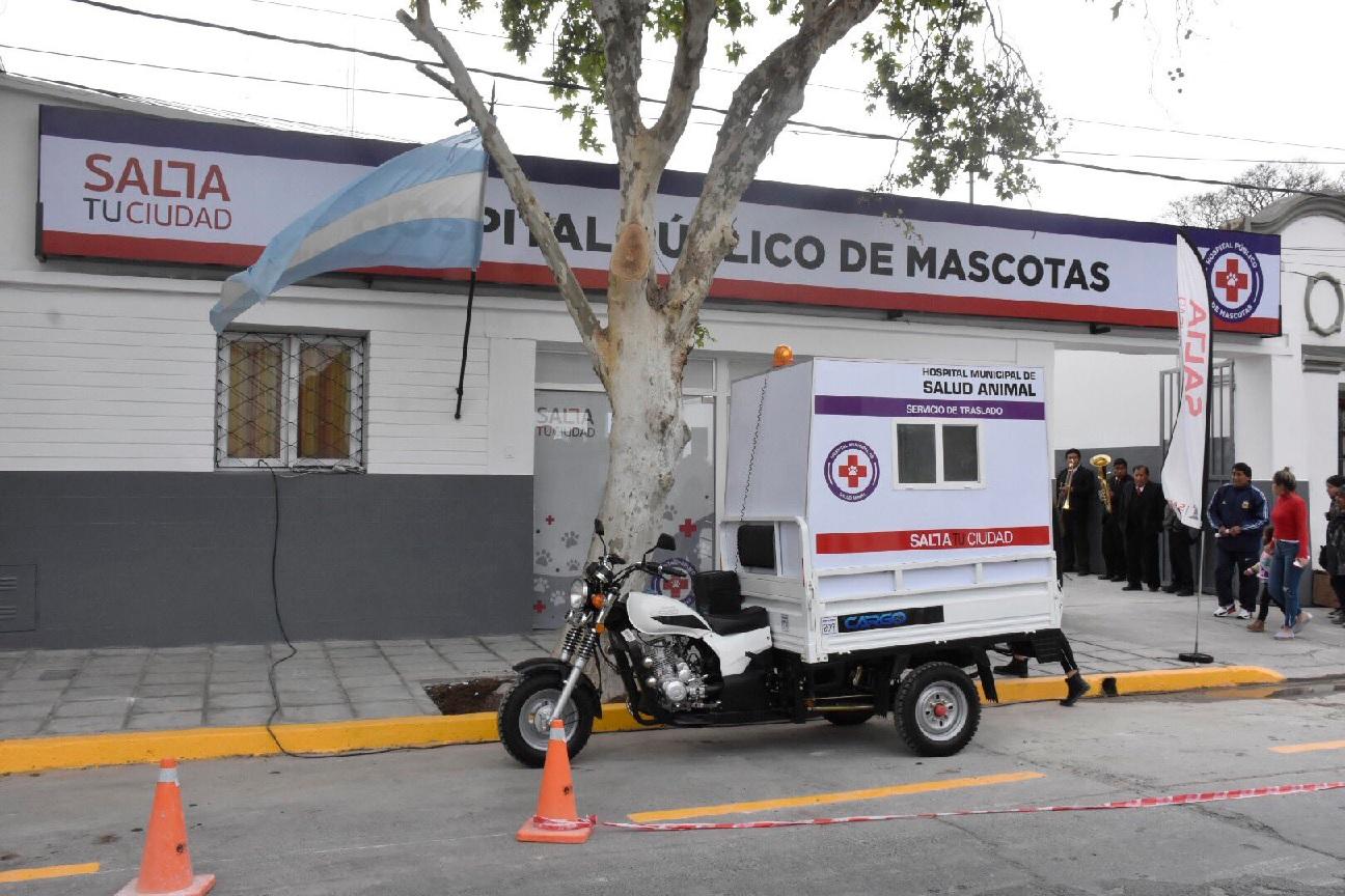 En Capital se inauguró el primer hospital público de mascotas del NOA