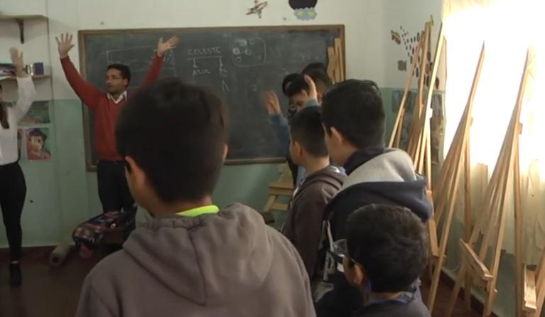 Mini mediadores entran en acción en el ámbito escolar